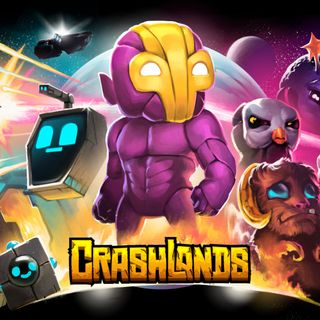 Boxart for the Butterscotch Shenanigans game Crashlands