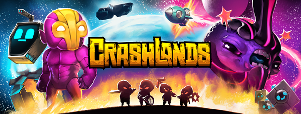 crashlands promo banner