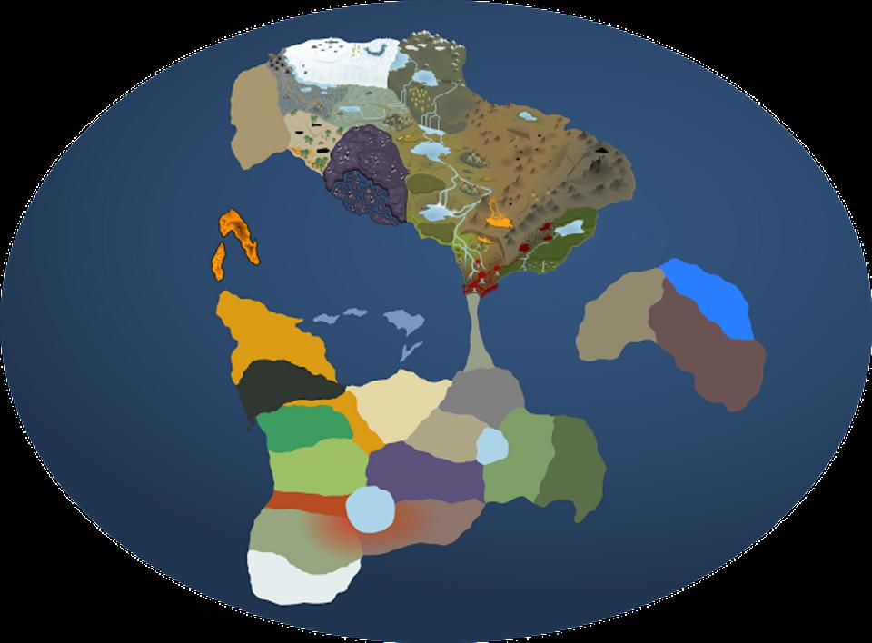 Skybrawler world map