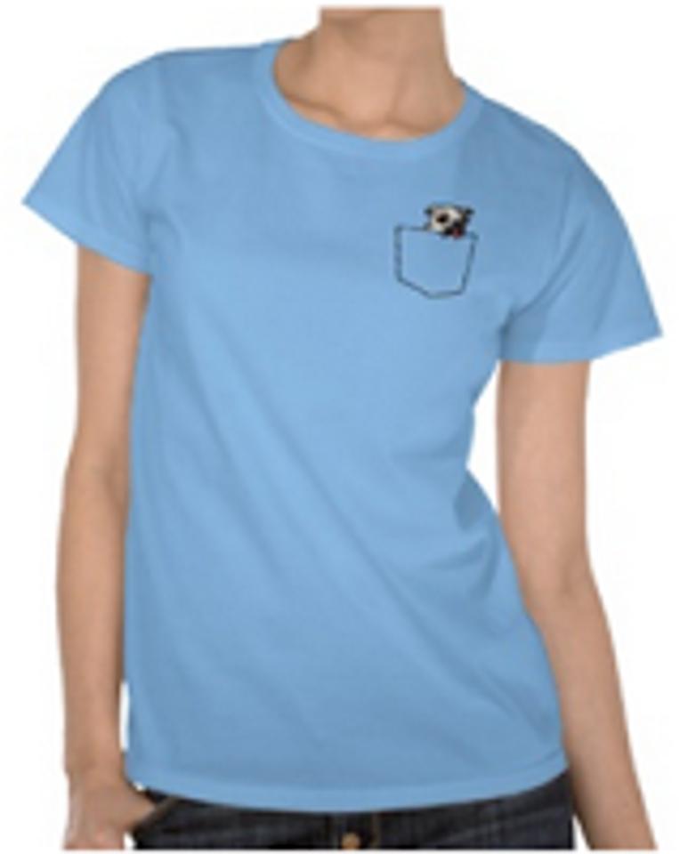 pocket pug shirt